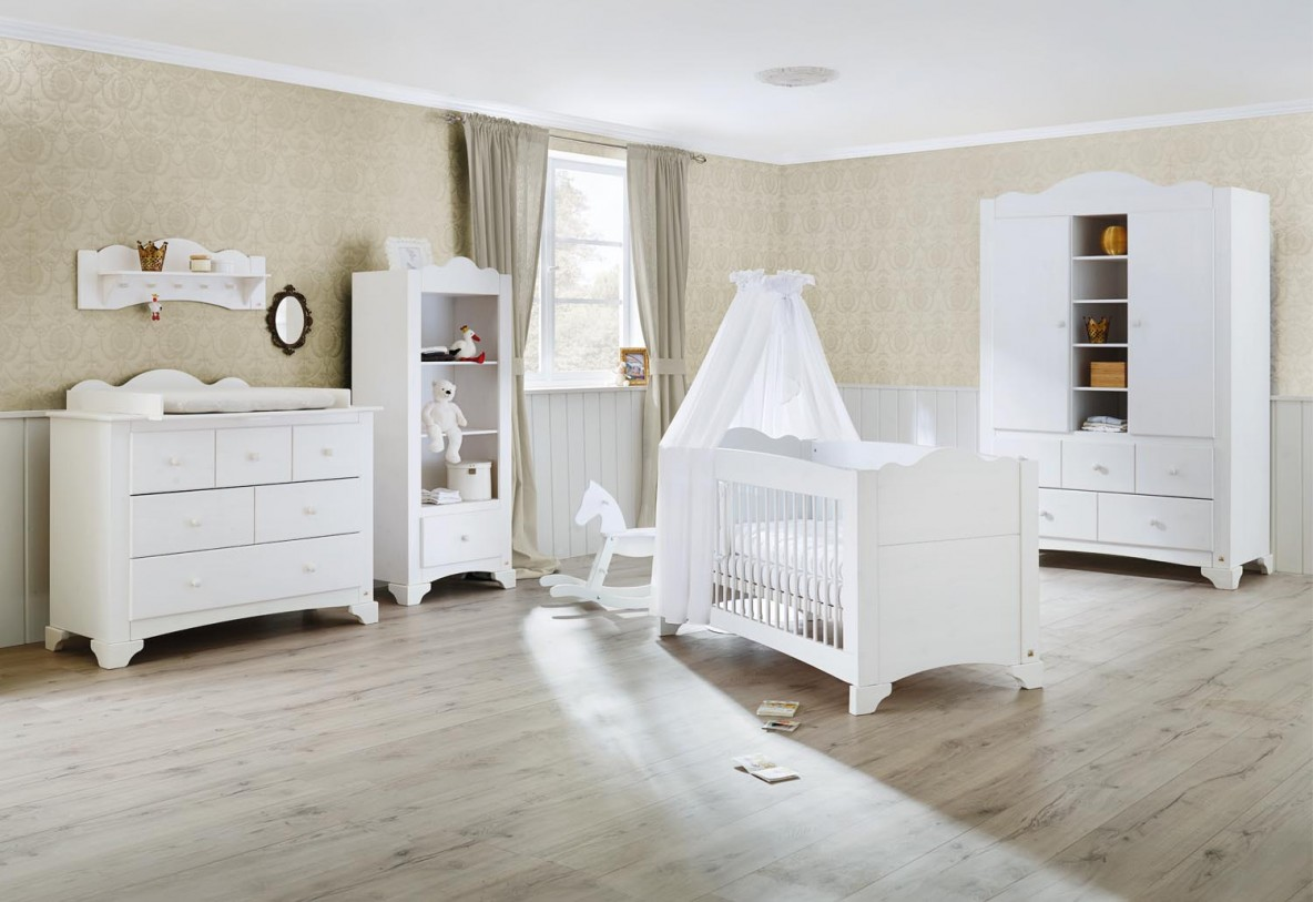 Pinolino chambre bebe pino lit commode langer for Chambre lit et armoire