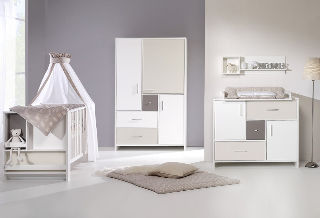 chambre b b lit commode armoire candy beige schardt chambre b b. Black Bedroom Furniture Sets. Home Design Ideas