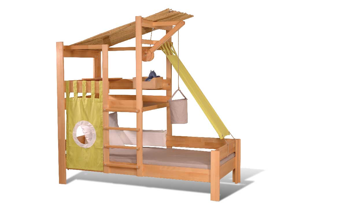 lit cabane enfant en h tre massif mod le bruno de breuyn. Black Bedroom Furniture Sets. Home Design Ideas